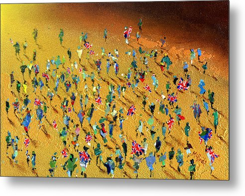 Gold Rush - Metal Print - Neil McBride Art