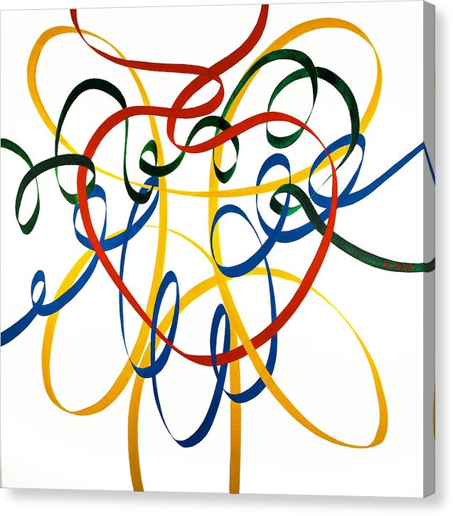 Heart Strings - Canvas Print - Neil McBride Art