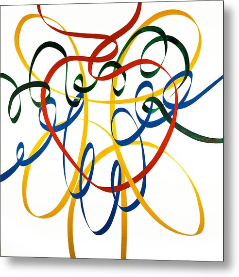 Heart Strings - Metal Print - Neil McBride Art