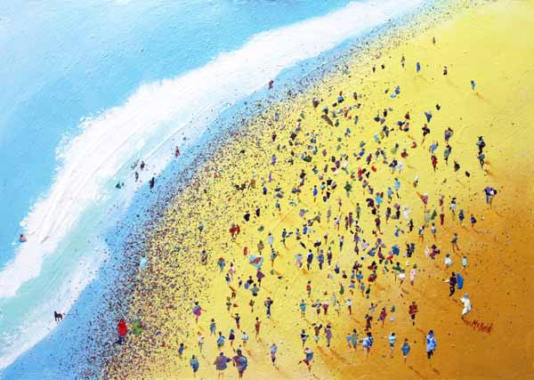 Beach Party - Limited Edition Art Print - Neil McBride Art