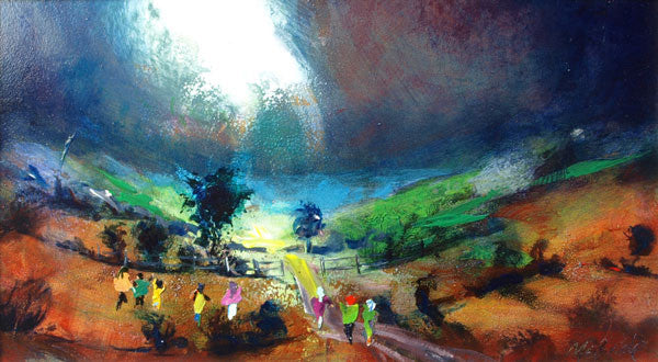 Burst of Light - Limited Edition Art Print inspired by the Yorkshire landscape