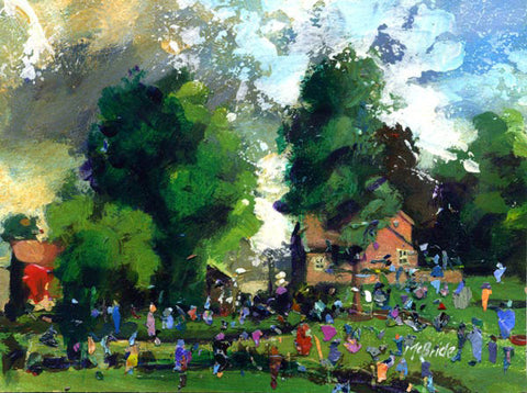 Garden Party in England - Limited Edition Art Print
