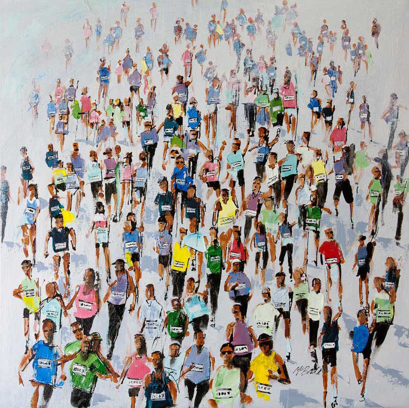 Marathon 2015 - Limited Edition Art Print - Neil McBride Art