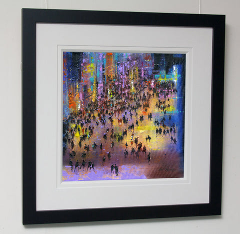 Framed original painting by Neil McBride