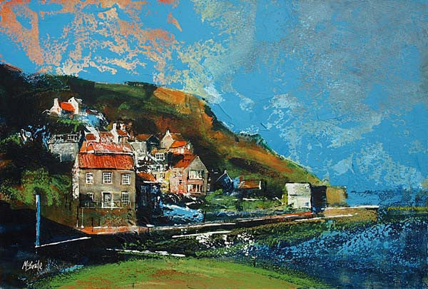 Runswick Bay, North Yorkshire - Limited Edition Art Print - Neil McBride Art