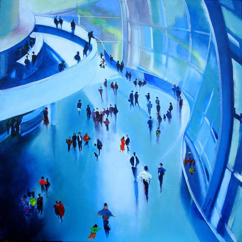 The Sage music and arts centre, Gateshead - Original artwork on canvas