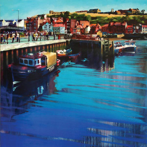 Whitby New Quay - Signed Limited Edition prints