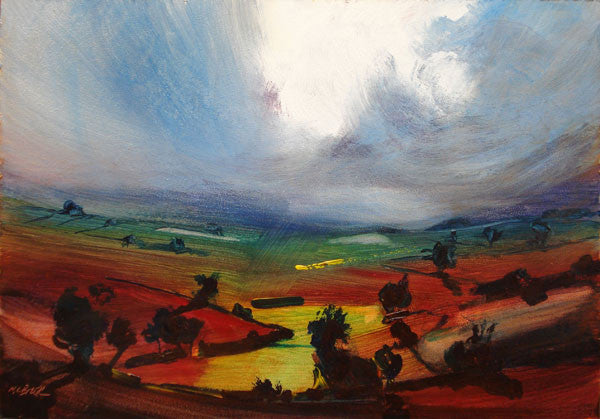Awesome, Limited Edition Art Print of Yorkshire Landscape from a painting by Neil McBride