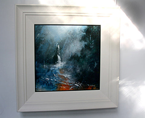 Falling Foss North Yorkshire - Original landscape painting. - Neil McBride Art