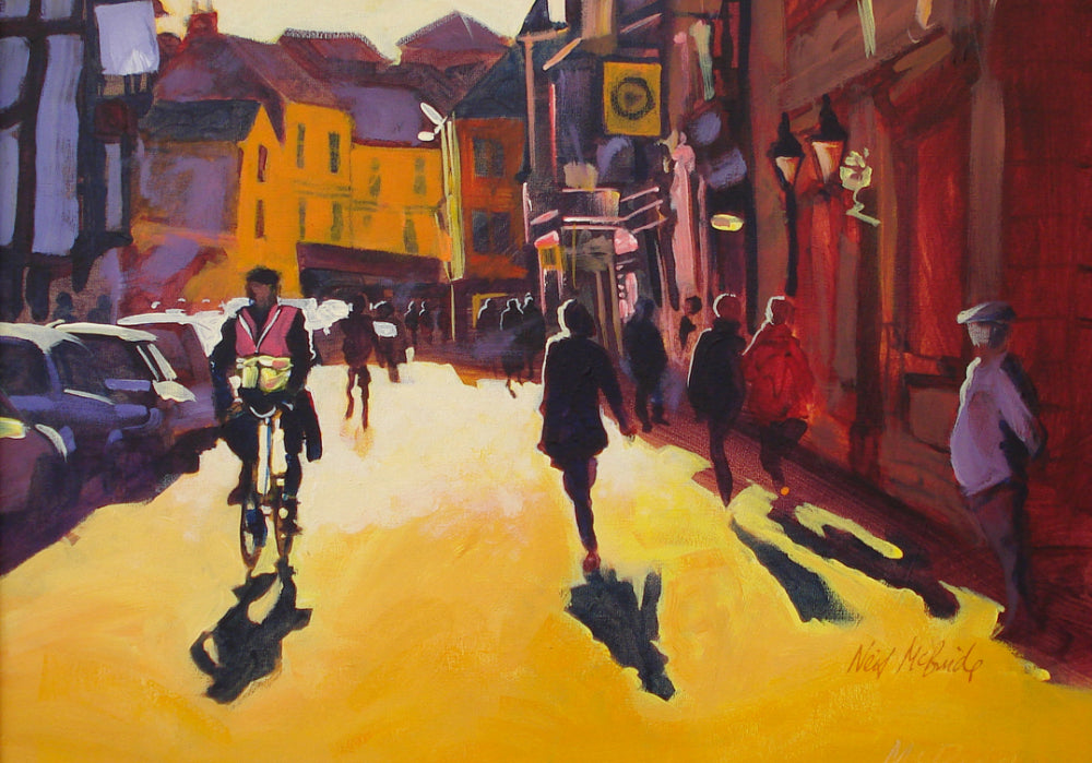 York Goodramgate Sunburst - Signed, Limited Edition Art Print - Neil McBride Art