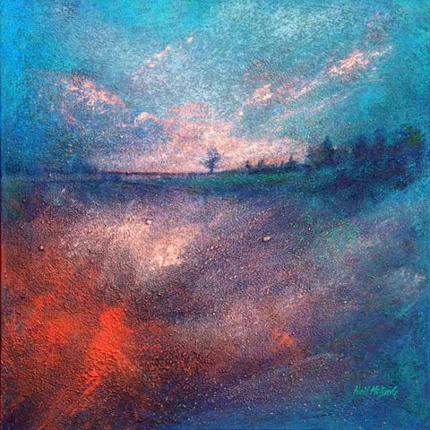 Dreamscape One, original, contemporary landscape painting.