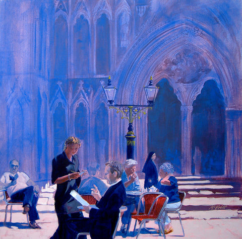 Tea at York Minster - Limited Edition Art Prints