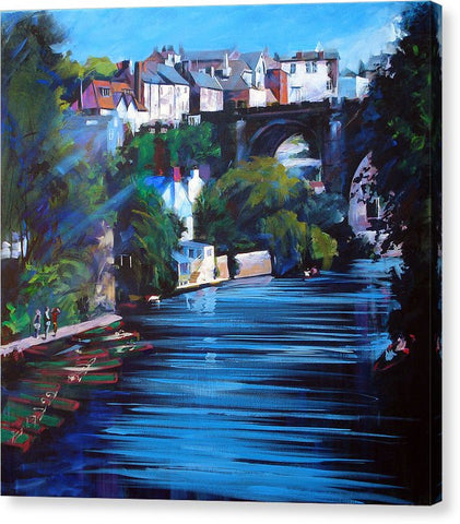 Knaresborough Viaduct - Canvas Print
