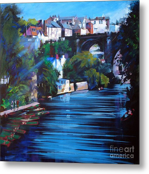 Knaresborough Viaduct - Metal Print - Neil McBride Art