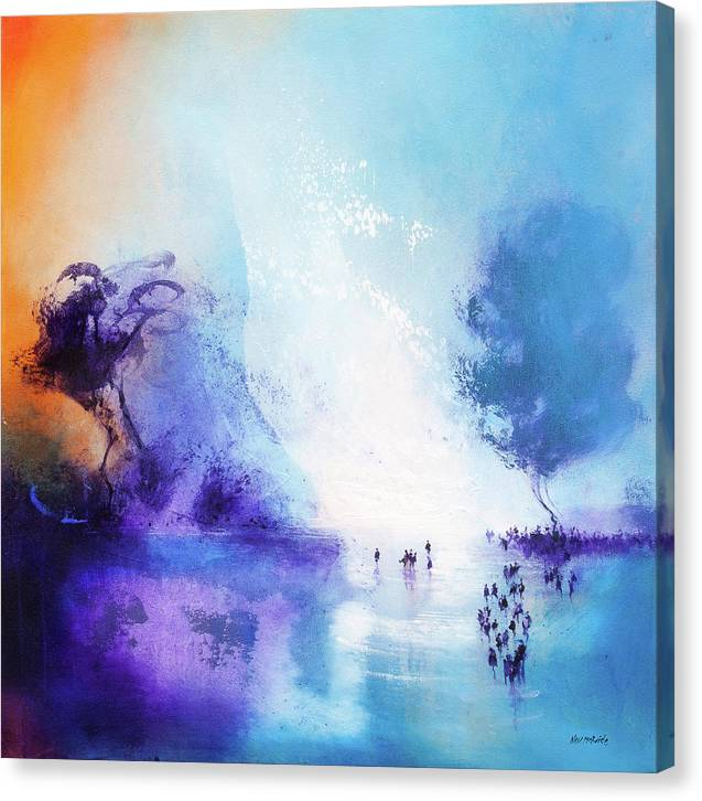 Lagoon art canvas prints by Neil McBride