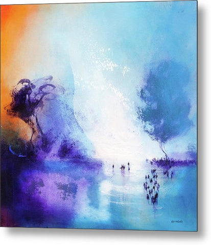 Lagoon - Metal Prints