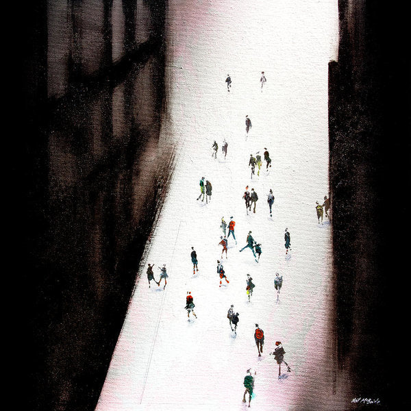 Lost In Franz - Art Print on paper - Neil McBride Art
