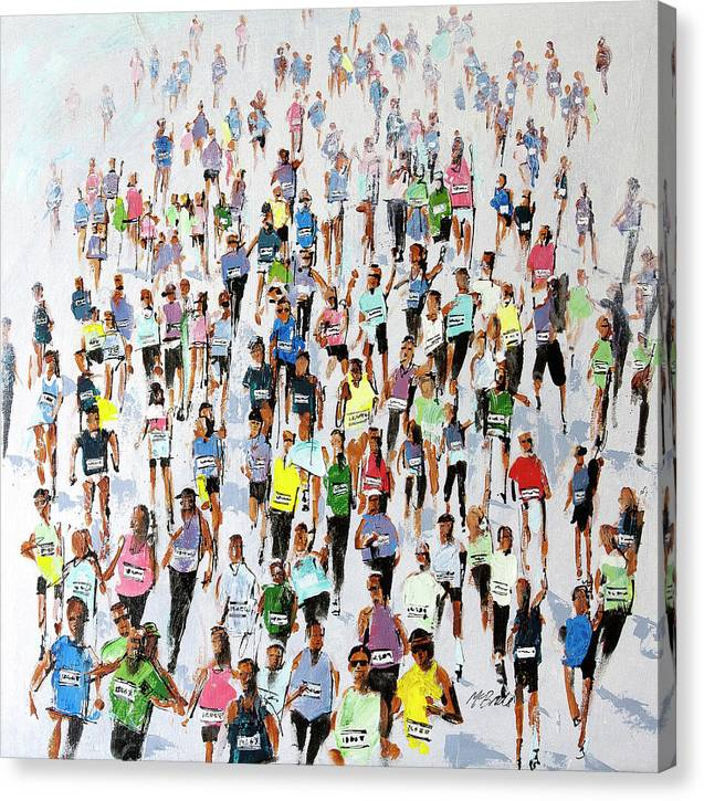Marathon 2015 run art © Neil McBride 2019
