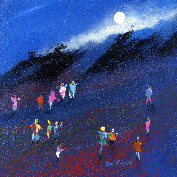 Moon Beam Search - Art Print - Neil McBride Art