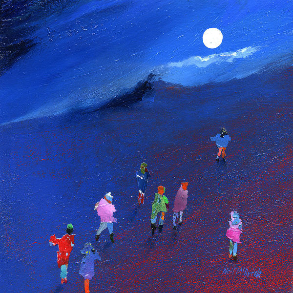 Moonlight Ramble - Art Print - Neil McBride Art