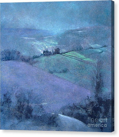 Moorland Highlights - Canvas Print - Neil McBride Art