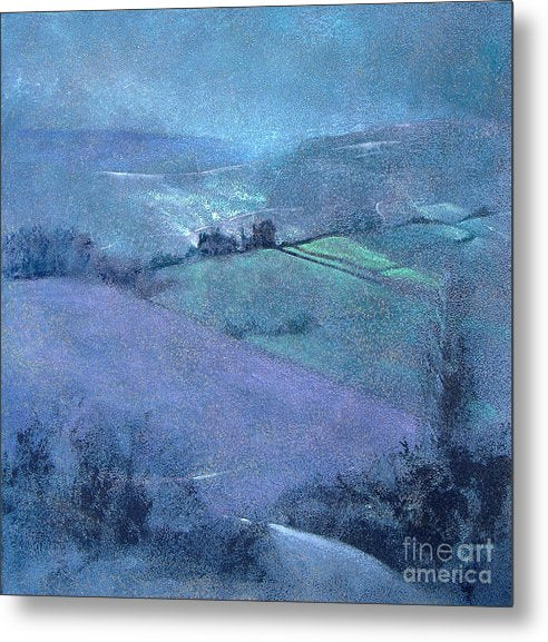 Moorland Highlights - Metal Print