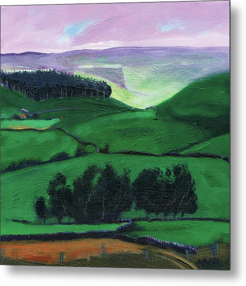 North York Moors Copse - Metal Print
