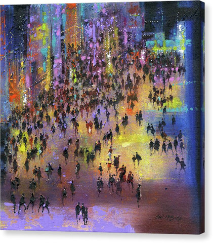 Out On The Town - Canvas Print