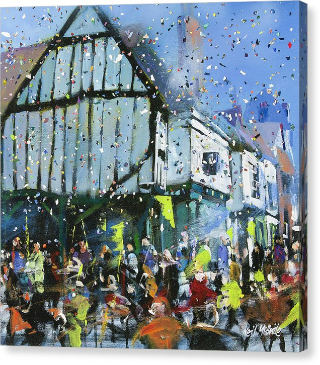 Parade In York - Canvas Print - © Neil McBride 2018
