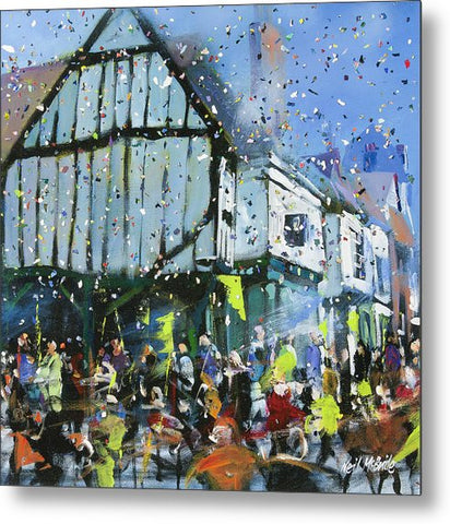 Parade In York - Metal Print