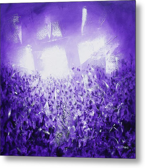 Purple Rave - Throw Pillow