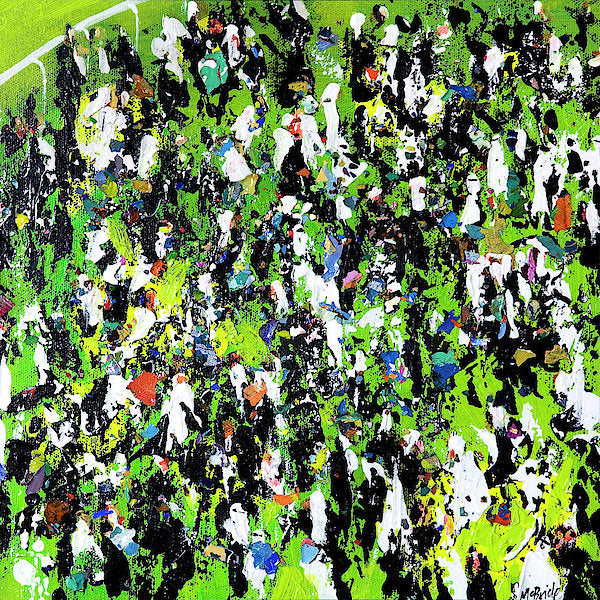 Race Meeting - Art Print on paper by Yorkshire based British visual artist Neil Mcbride © Neil McBride 2018