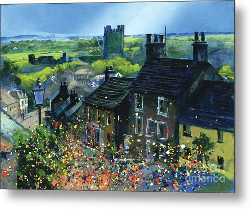 Richmond Carnival In Frenchgate - Metal Print