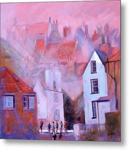Robin Hood's Bay Dock - Metal Print