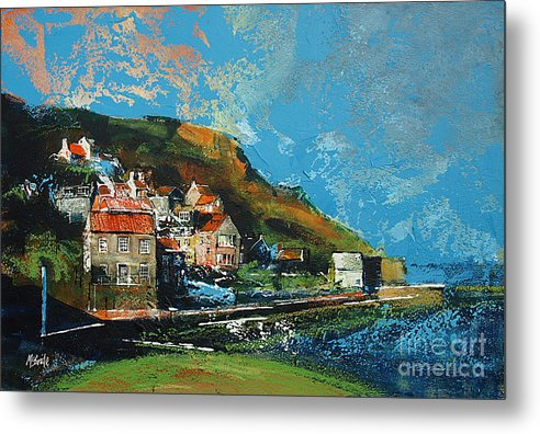 Runswick Bay art. © Neil McBride 2018