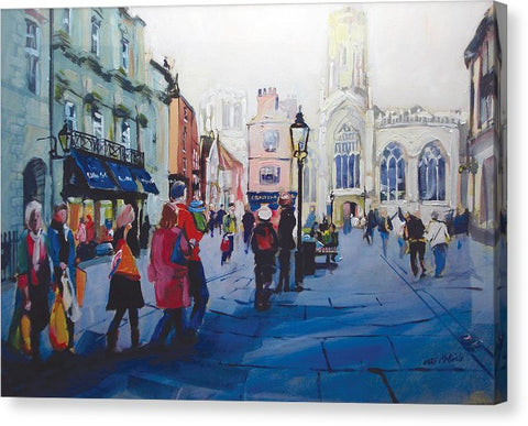 St Helen Square York - Canvas art prints