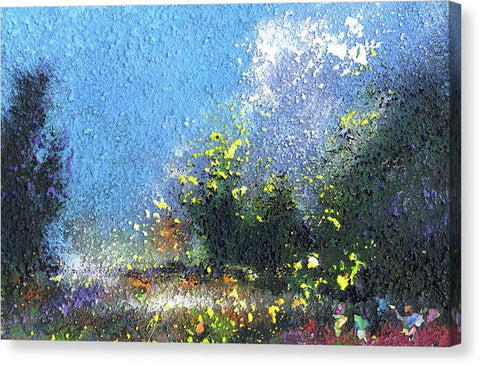 Summer Walk - Canvas Print