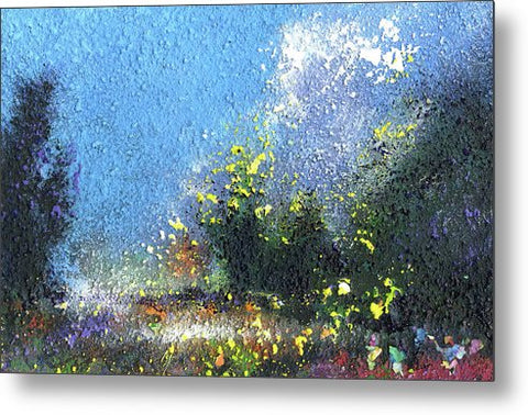 Summer Walk - Metal Print