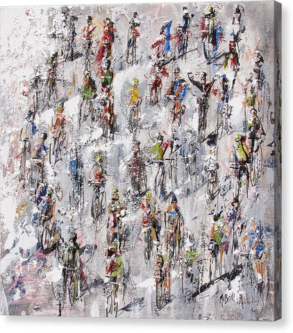 Tour De France Stage 2 - Canvas Print