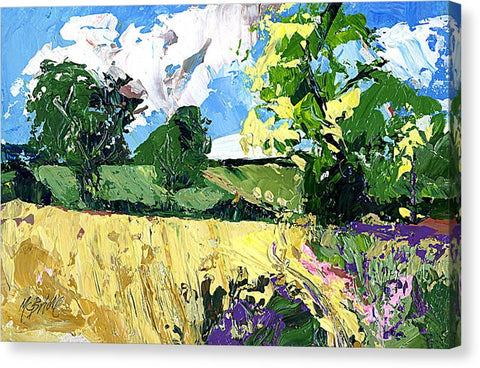 Whinny Bank, Coxwold, North Yorkshire - Canvas Print