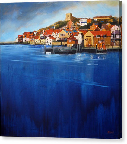 Whitby High Tide - Canvas Print