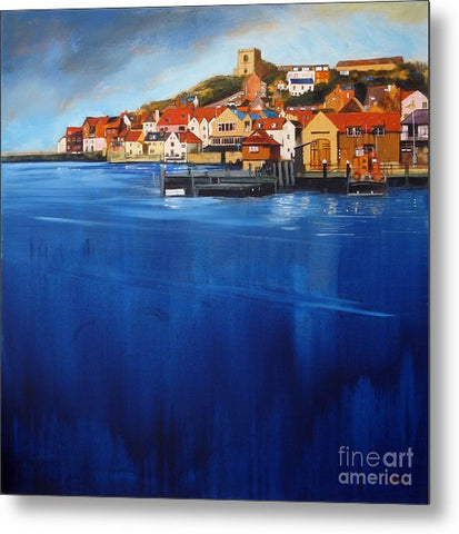 Whitby High Tide - Metal Print