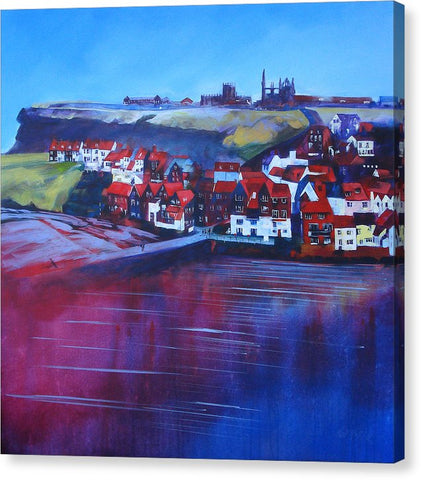Whitby Smokehouses - Canvas Print