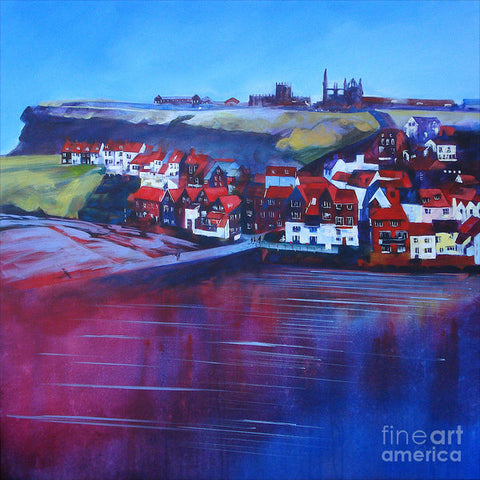 Whitby Smokehouses - Paper Print