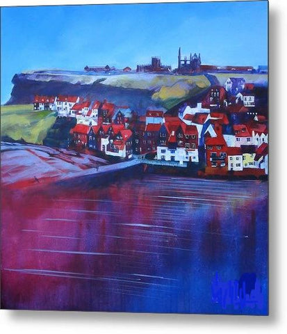 Whitby Smokehouses - Metal Print