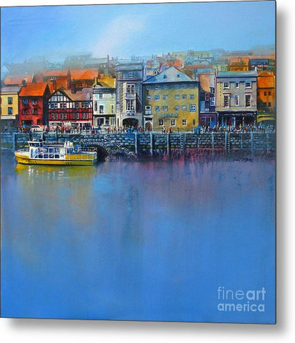 Whitby St Anne's Staith - Metal Print