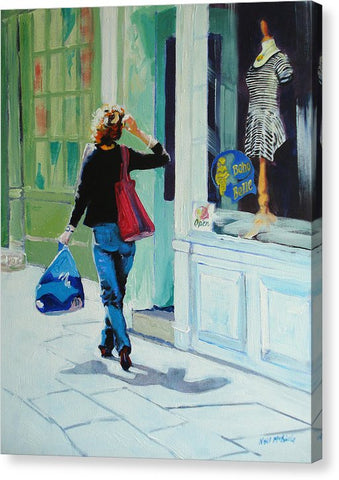 Window Shopping - Canvas Print
