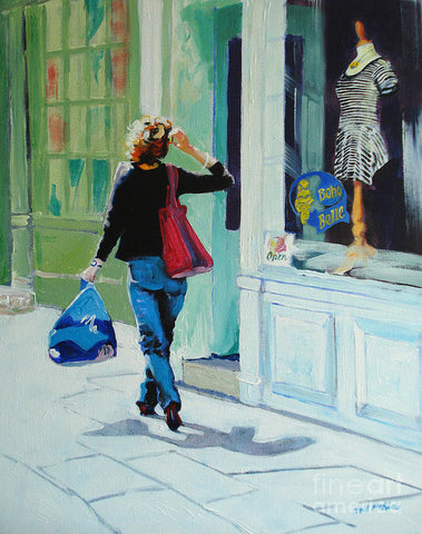 Window Shopping - Art Print