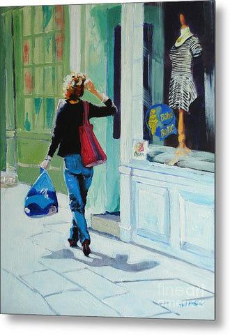 Window Shopping - Metal Print