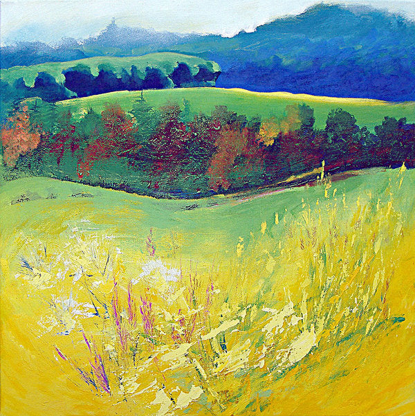 Yellow Meadow - Art Print © Neil McBride 2018
